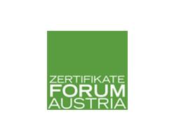 Zertifikat Forum Austria